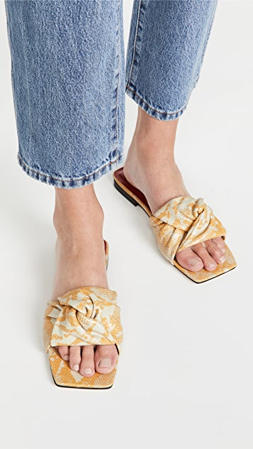 BY FAR Lima Sandals