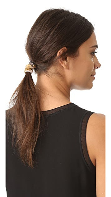 By Lilla Macchiato Hair Tie Set