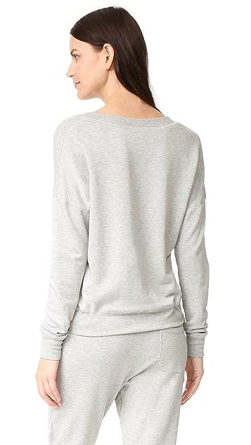 Beyond Yoga Cozy Fleece Rib Panel Sweatshirt