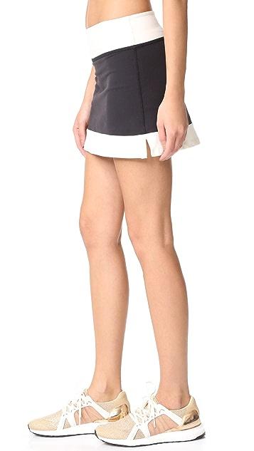 Beyond Yoga Kate Spade New York Blocked Frame Skirt
