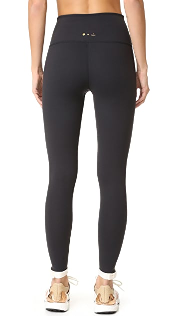 Beyond Yoga Kate Spade New York Blocked Frame Long Leggings