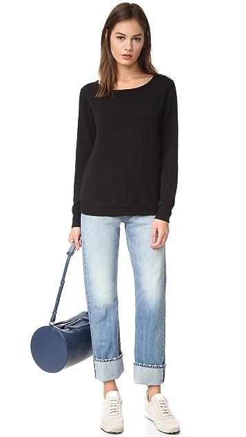 Beyond Yoga Kate Spade New York Cozy Fleece Bow Pullover