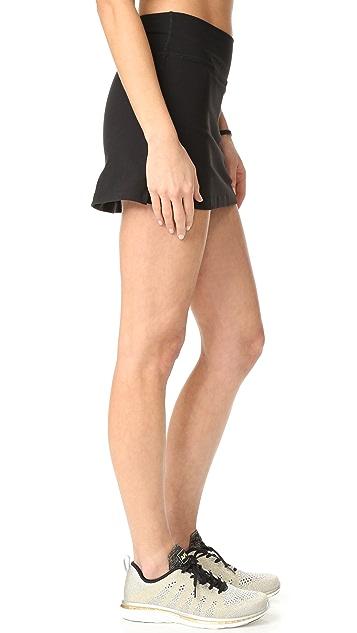 Beyond Yoga Kate Spade New York Side Slit Skirt