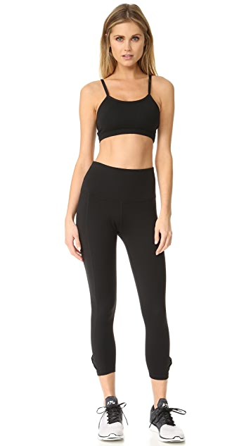 Beyond Yoga Kate Spade New York Side Bow Capri Leggings