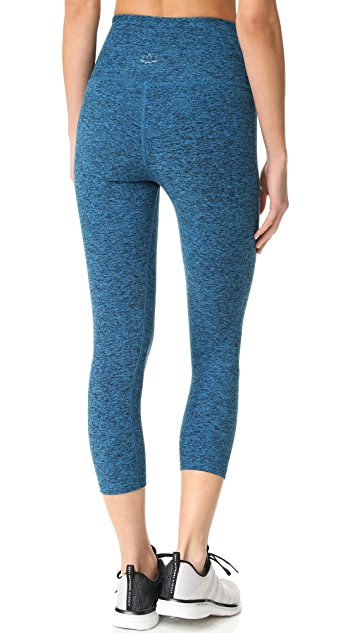 Beyond Yoga Space Dye High Waist Capri Leggings