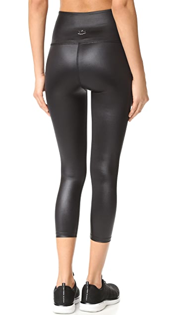 807ac157ef Beyond Yoga Gloss Over High Waist Capri Leggings | SHOPBOP
