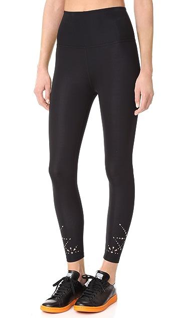 Beyond Yoga Knit Down High Waisted Midi Leggings