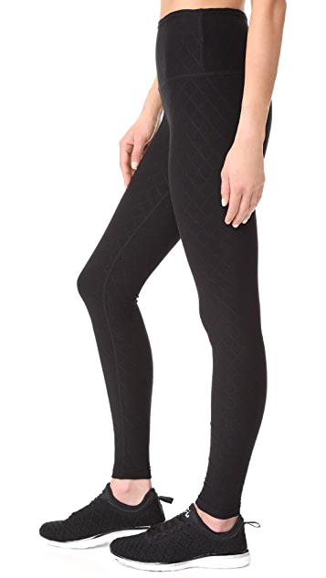 Beyond Yoga Can't Quilt You High Waisted Long Leggings