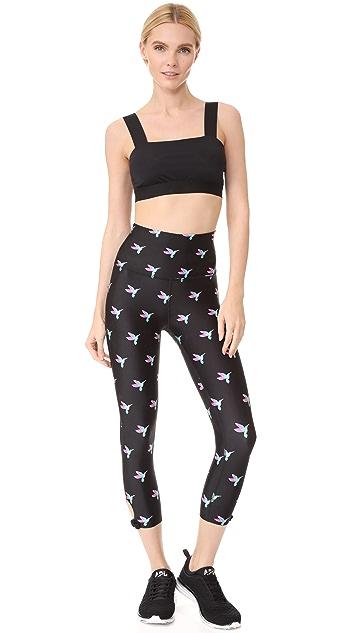 Beyond Yoga x Kate Spade New York Capri Leggings with Side Bow