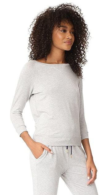 Beyond Yoga x Kate Spade New York Bow Cutout 3/4 Sleeve Sweatshirt