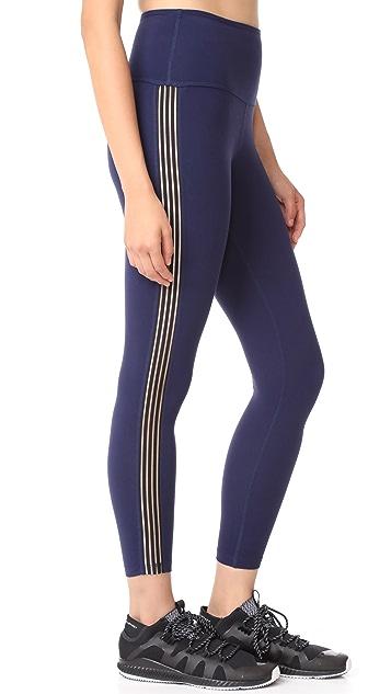Beyond Yoga Sheer Illusion High Waisted Midi Leggings