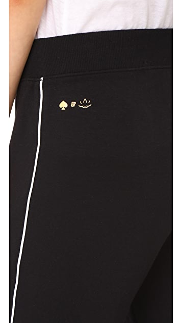 Beyond Yoga x Kate Spade New York Tuxedo Piped Sweatpants
