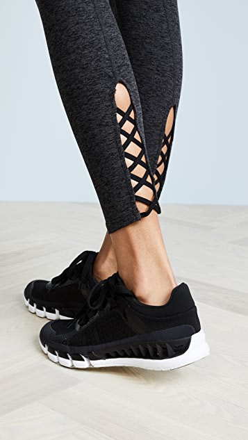 Beyond Yoga Cross It Back Midi Leggings