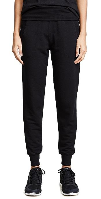 Beyond Yoga Cozy Fleece Sweatpants - Black