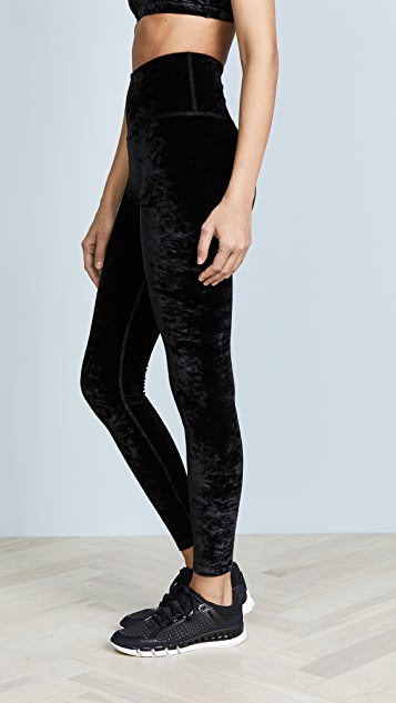 Beyond Yoga Crushed Velour High Waisted Leggings