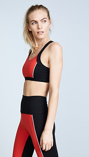 Beyond Yoga x Kate Spade New York Blocked Bow Bra