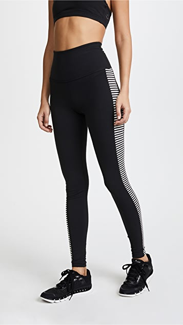 Beyond Yoga x Kate Spade New York Saturday Stripe Leggings - Saturday Stripe
