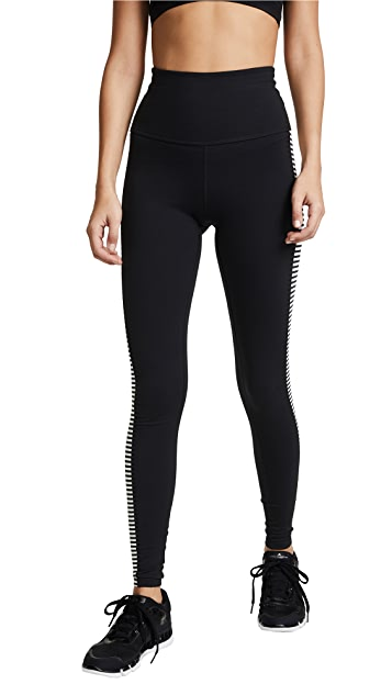 Beyond Yoga x Kate Spade New York Saturday Stripe Leggings