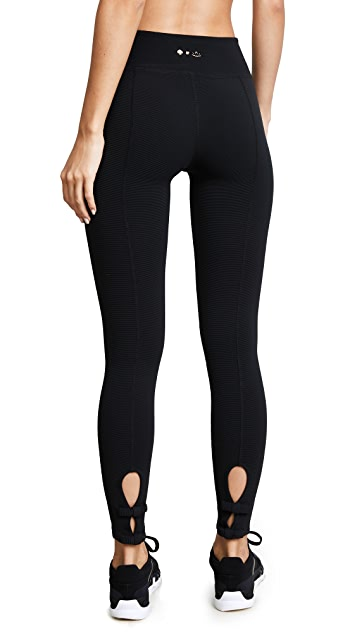 Beyond Yoga x Kate Spade New York Back Bow Midi Leggings