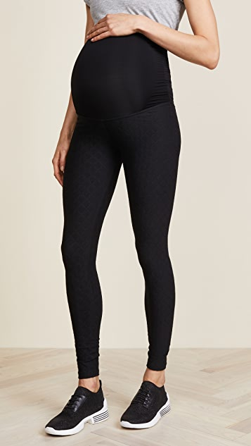 Beyond Yoga Quilt Texture Maternity Leggings