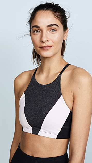 Beyond Yoga Around The Colorblock Bra