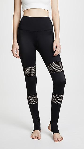 Beyond Yoga Blocked Out Stirrup Leggings - Black