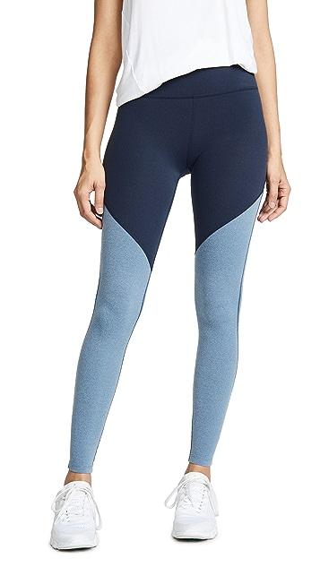 Beyond Yoga Plush Angled High Waisted Leggings