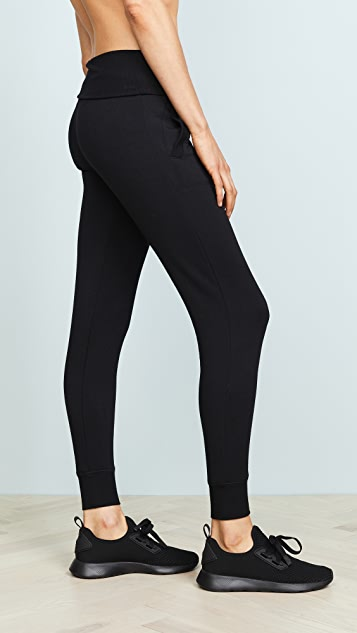 Beyond Yoga Cozy Fold Over Sweatpants