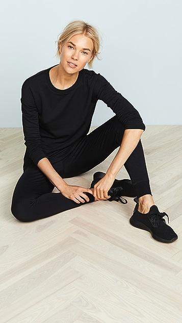 Beyond Yoga Уютные спортивные брюки с отворотами