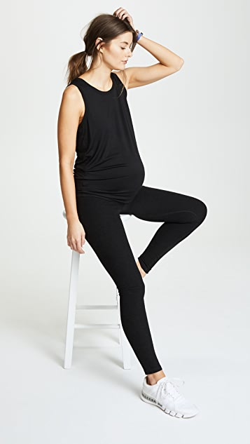 Beyond Yoga Fold Down Maternity Leggings