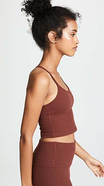 Beyond Yoga Slim Racerback Crop Top