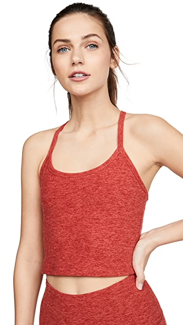 Beyond Yoga Space Dye Slim Racerback Cropped Tank