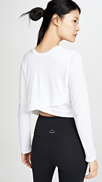 Back Out Cropped Pullover