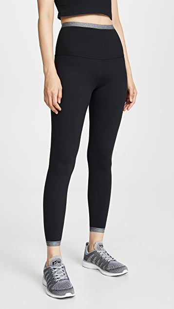Beyond Yoga Cross Point High Waist Midi Leggings