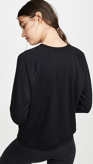 Beyond Yoga Пуловер Favorite с округлым вырезом и рукавами реглан