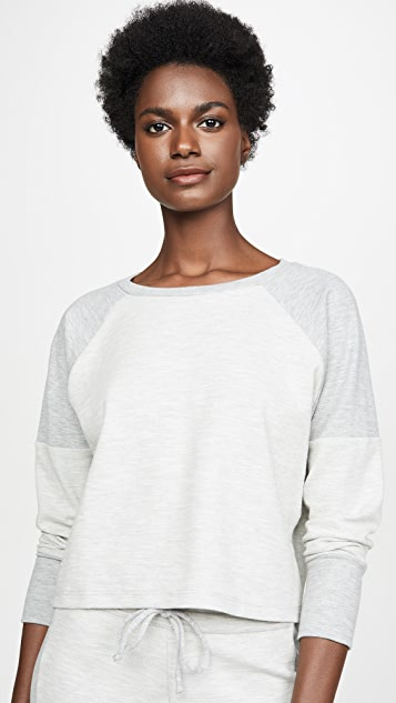 Beyond Yoga All The Feels Cropped Pullover