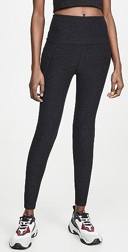 Beyond Yoga - 段染口袋高腰中长贴腿裤
