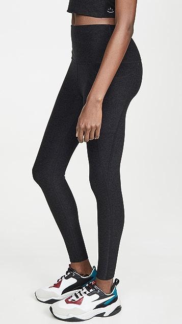 Beyond Yoga Spacedye Out Of Pocket High Waisted Midi Leggings
