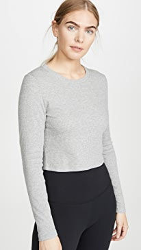 Keep In Line Cropped Pullover