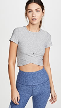 Under Over Lightweight Cropped Tee