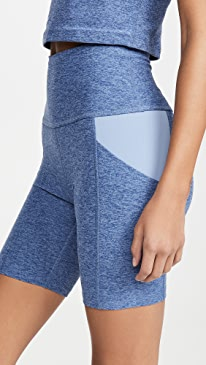 Spacedye In The Mix High Waisted Biker Shorts