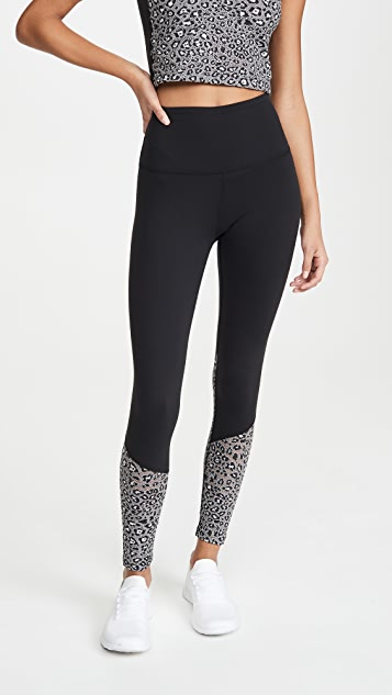 Beyond Yoga Back Me Up Midi Leggings