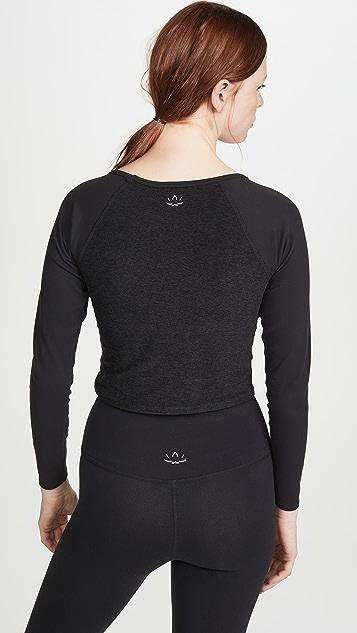 Beyond Yoga 段染裁短设计 T 恤