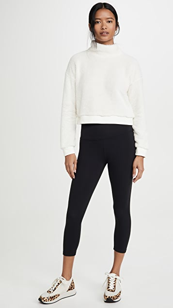 Beyond Yoga All Time Cropped Pullover