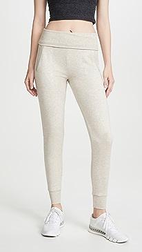Fold Over Long Sweatpants