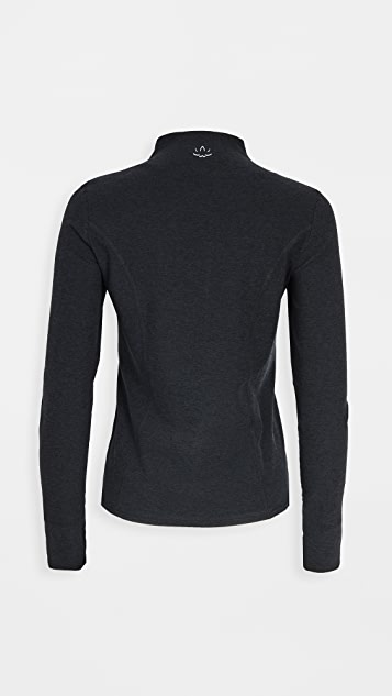 Beyond Yoga Fitted Mock Neck Jacket