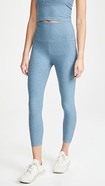Beyond Yoga 高腰七分贴腿裤