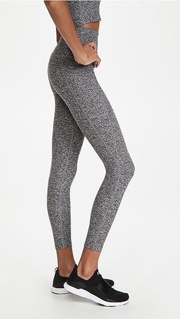 Beyond Yoga Out Of Pocket 高腰中长贴腿裤