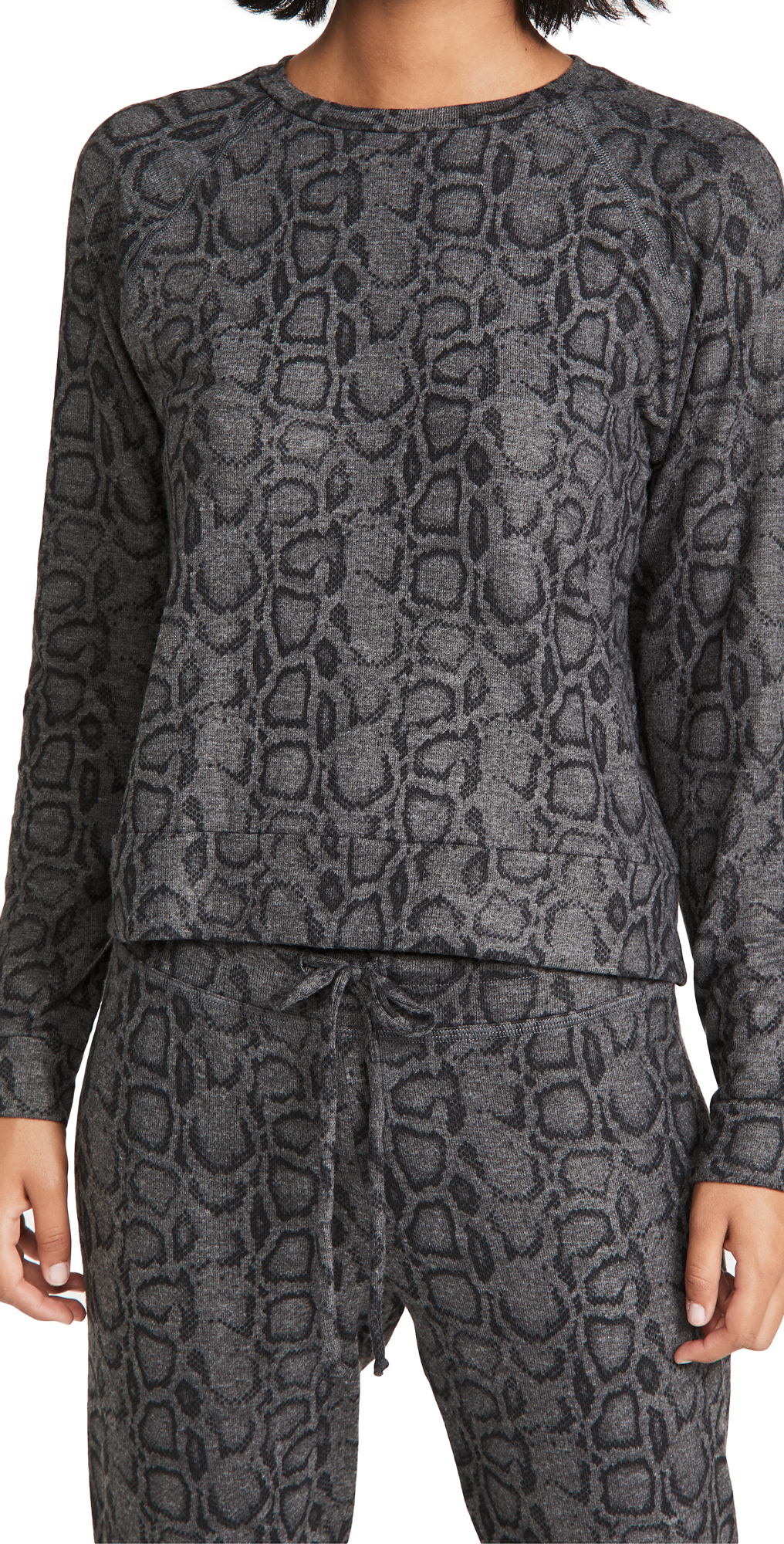 Beyond Yoga Cobra Printed Raglan Pullover
