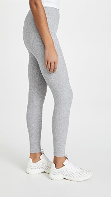 Beyond Yoga 高腰中长贴腿裤